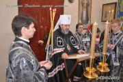 Чтение канона Андрея Критского в Музыковском Покровском мужском монастыре.