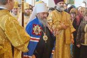Блаженніший Митрополит Онуфрій звершив Божественну літургію в кафедральному соборі мїста Херсона