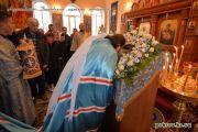 Покров Пресвятой Богородицы. Престольный праздник в Покровском мужском монастыре