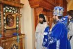 Архиерейское богослужение в Покровском мужском монастыре