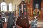 Чтение Великого покаянного канона в Покровском мужском монастыре с. Музыковка