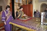 Архиерейская служба в Покровском мужском монастыре