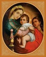 Чудотворная икона Пресвятой Богородицы «Трех радостей»