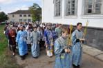 В с. Музыковка Белозерского района открылся Покровский мужской монастырь